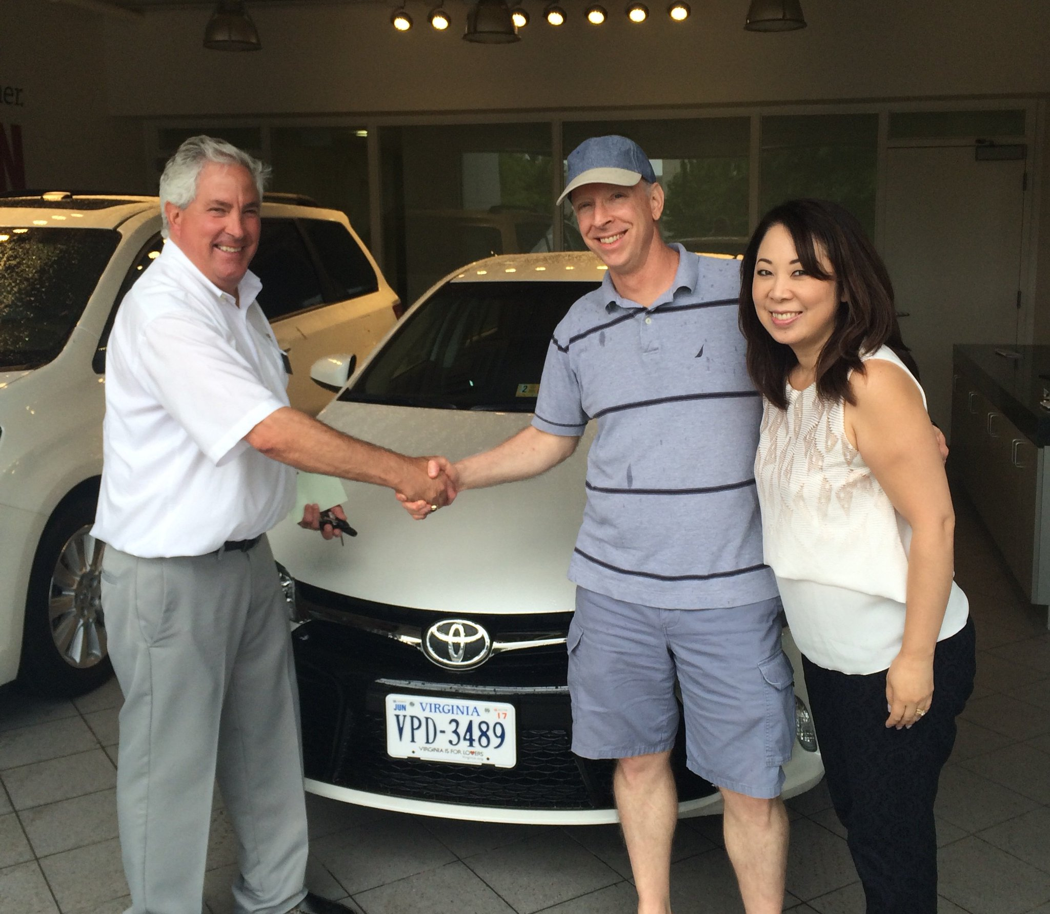 """Ourisman Toyota on Twitter """"Mark Goode with his wife and their"""