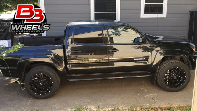"Grid Gd1 Wheels >> BB Wheels on Twitter: ""20x9 #Grid #GD1 wheels with black inserts on a #Toyota #Tacoma. Thanks ..."
