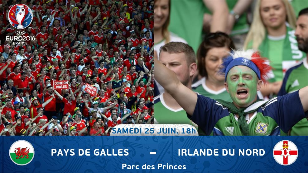 Euro 2016 • Pays de Galles Vs Irlande du Nord [1/8 finale] CllYNwdWEAI5oCJ