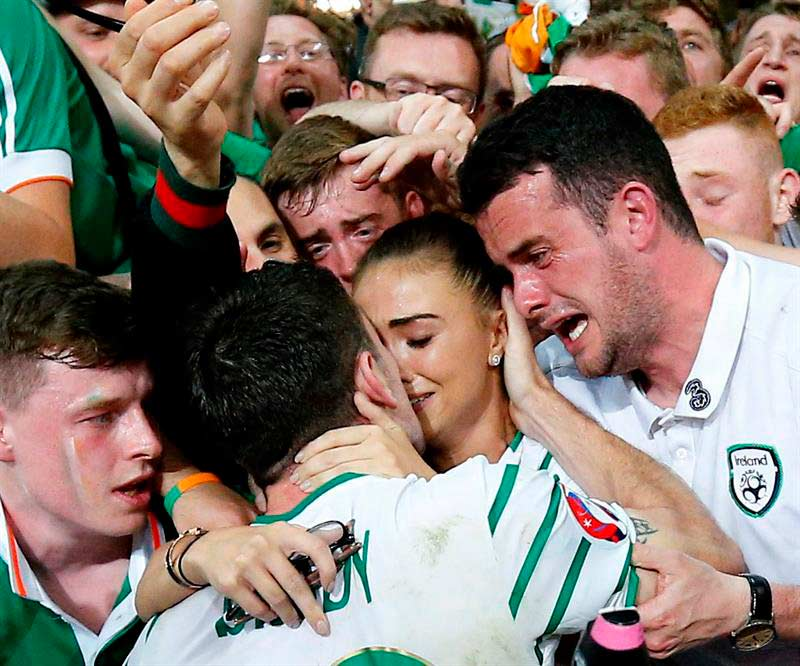 EURO 2016: Irlanda-Italia 1-0, gol di Robbie Brady all'85' (VIDEO)