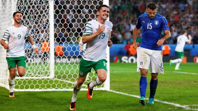 ITALIA IRLANDA Video: Risultato firmato Robbie Brady all'85'