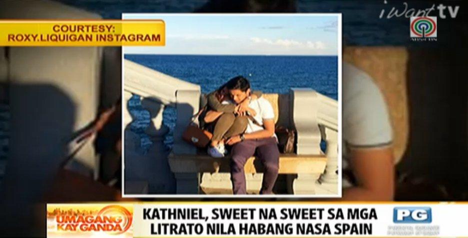 #UKGShowbiz:Kathniel, sweet na sweet sa mga litrato nila habang nasa Spain https://t.co/vwqBrVzhXt