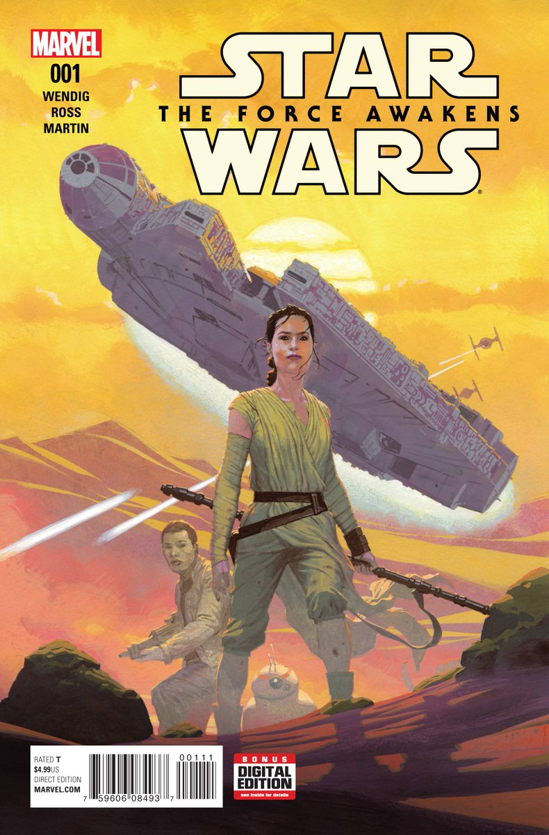only a moof milker would like the star wars the force awakens comic