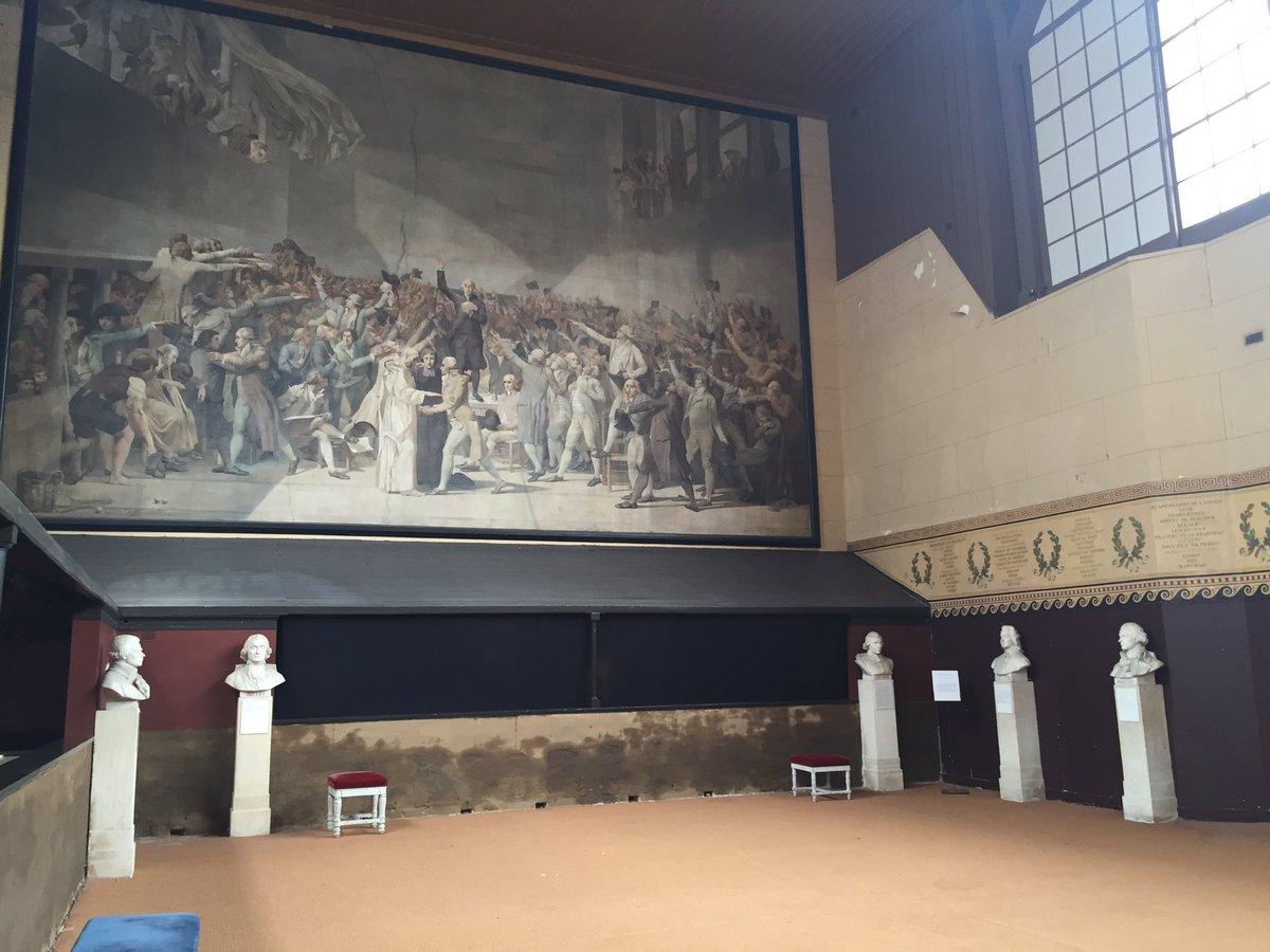 Cindy Ermus On Twitter La Salle Du Jeu De Paume A Versailles