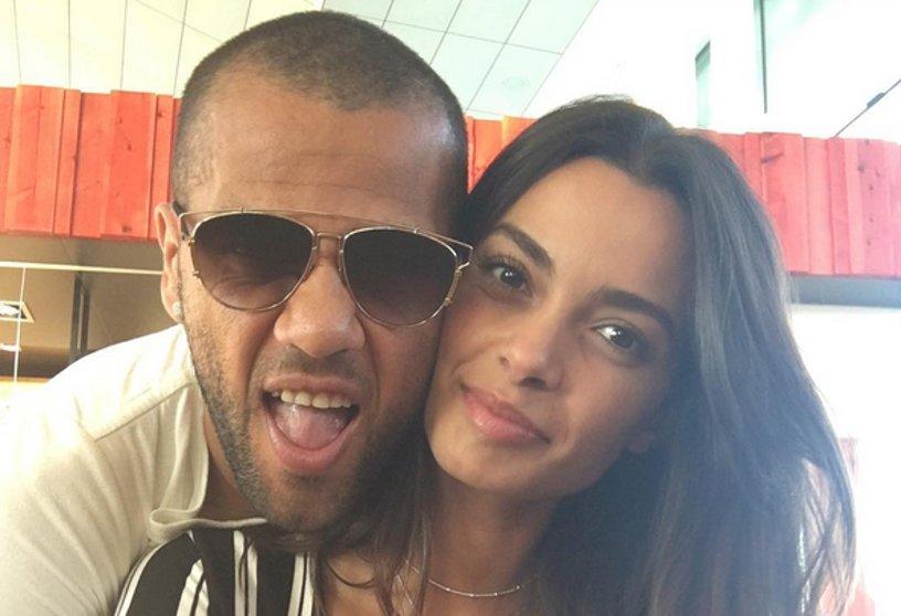 Joana Sanz, la fidanzata di Dani Alves (Juventus)