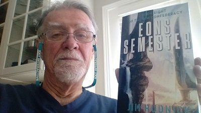 Best selfies are Authors with their latest book! Eons Semester is #8 in the RIM Confederacy Series #HamOnt #sciFi -… https://t.co/yHoe0Tbd2z