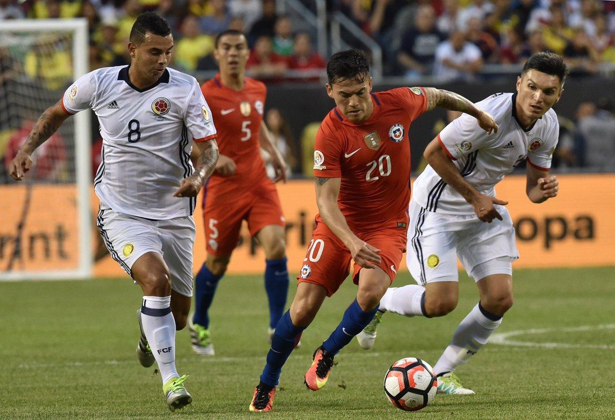 Coppa America: Il CIle batte Colombia, giocherà la finale contro Argentina