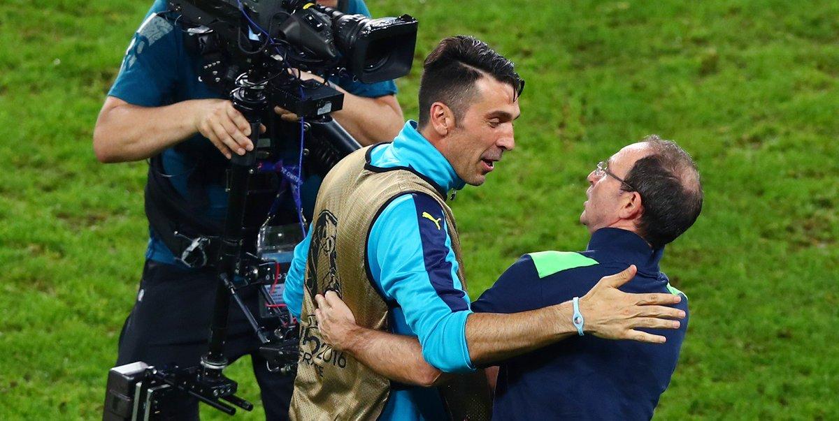 Europei 2016: un successo di messaggi per Buffon, Chiellini e Bonucci