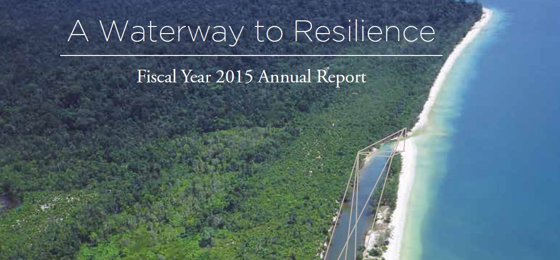 A waterway to resilience FY15 annual report (English)
