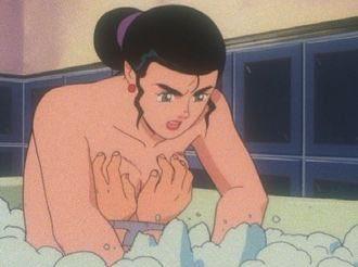 #細かすぎて伝わらないガンダムの好きなシーン  Vガンダムでウッソが囚われた時、ルペ・シノと一緒に風呂入ってどさくさ紛れに乳揉んだところ。 https://t.co/PjvEfyDX3I