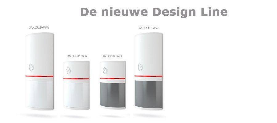 de nieuwe Design Line detectoren van Jablotron
