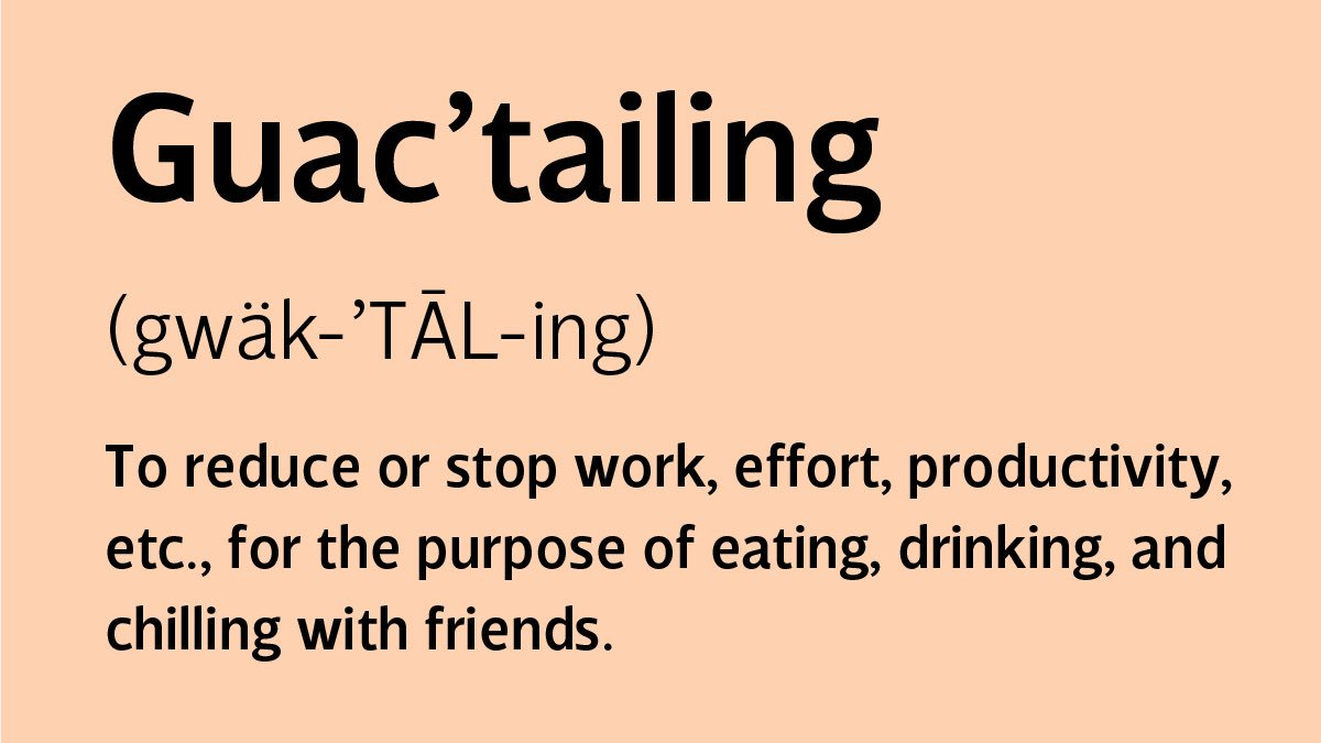 Guacamole + Cocktails + Friends = #Guactailing | Because, this summer is about to be