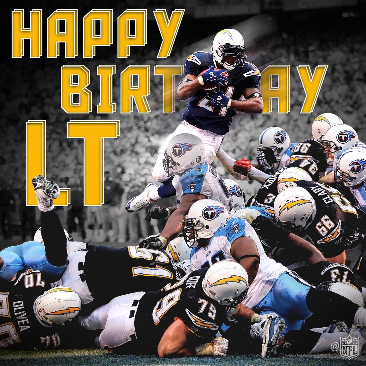"""San Diego Chargers Happy Birthday Pictures: NFL On Twitter: """"5th All Time In Rushing Yards. 145 Career"""