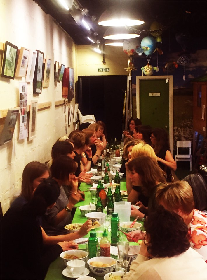 Remarkable Saigon Streat On Twitter Turns Out A Table For 24 Is Not A Home Interior And Landscaping Mentranervesignezvosmurscom