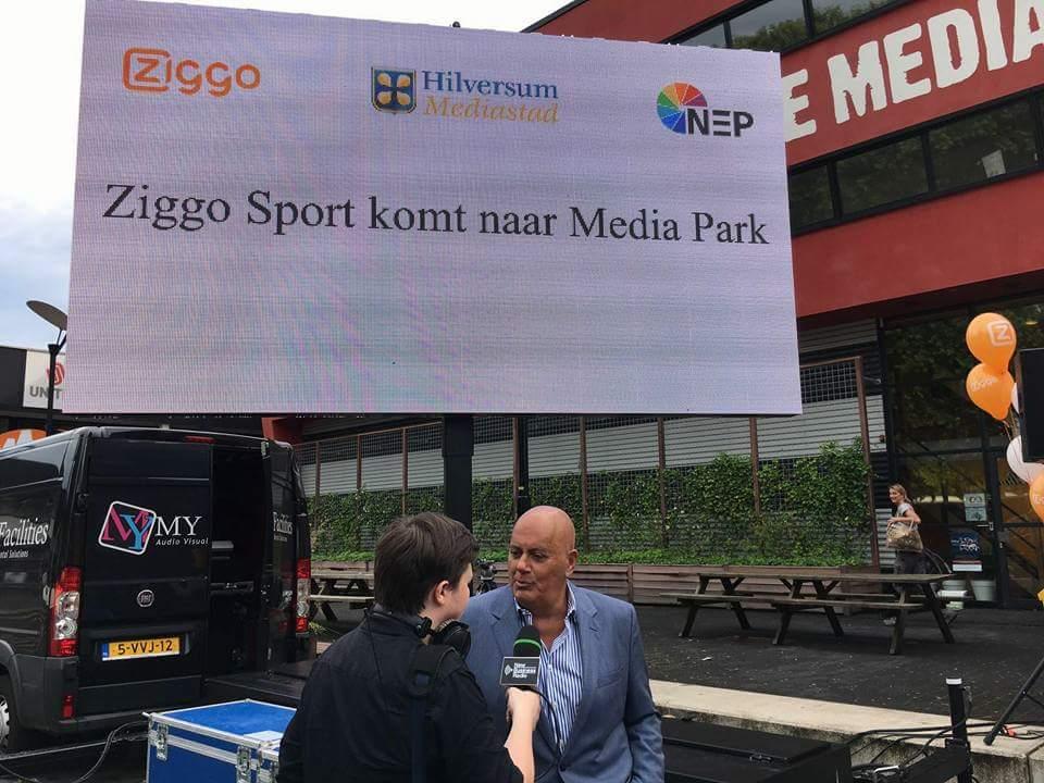 Welkom terug @jackvangelder op het @mediaparkhsum! @ZiggoSport verhuist naar @mediastad #mpjc16 @newbusradionl https://t.co/Bq5sNuviw6