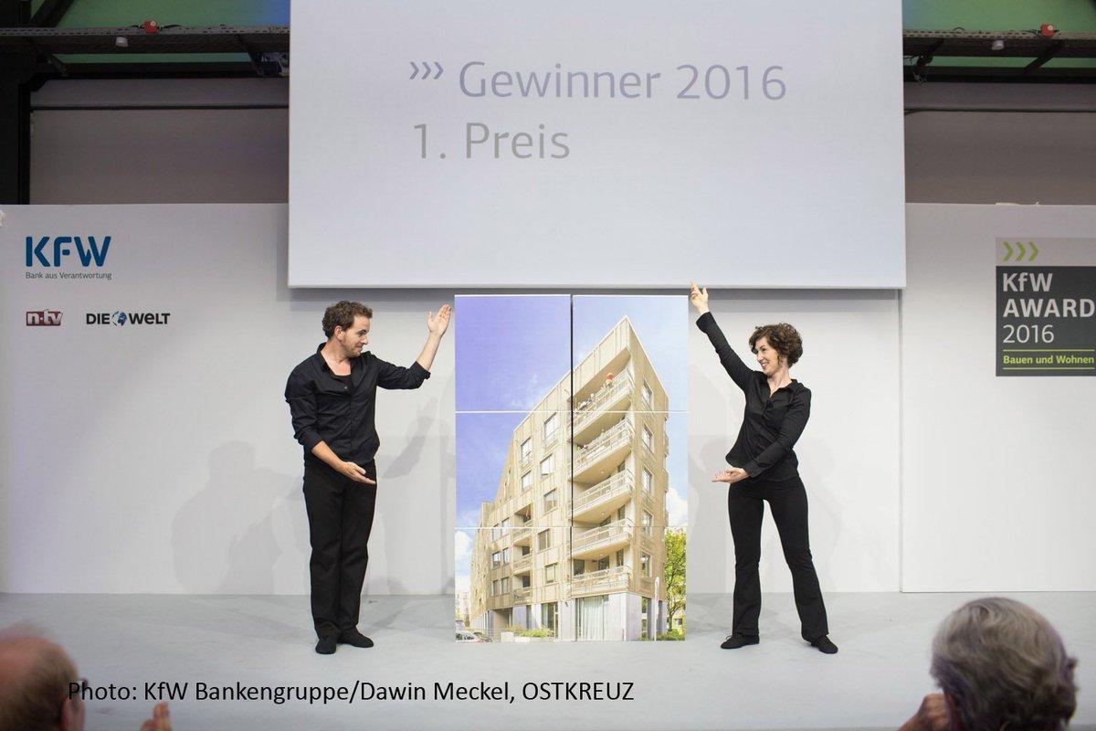 Kfw Bankengruppe On Twitter Kfwaward 2016 Bauen Und Wohnen Und