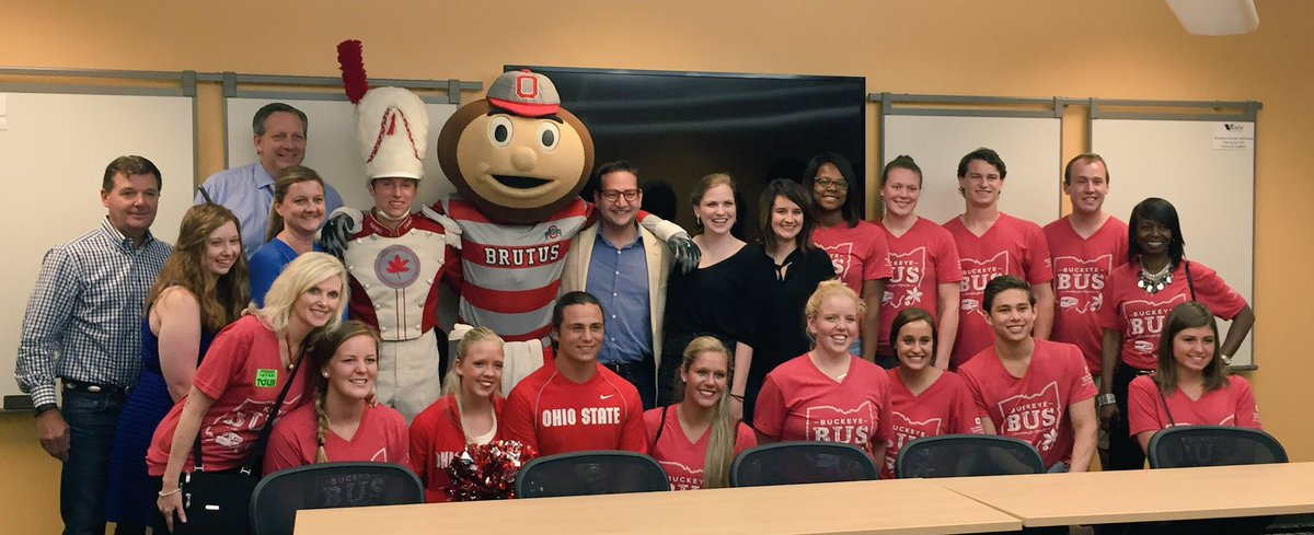 Just another day in the office. @StudentLifeOSU surprised @JaredKamrass at the office. https://t.co/AiK1jPQeG7