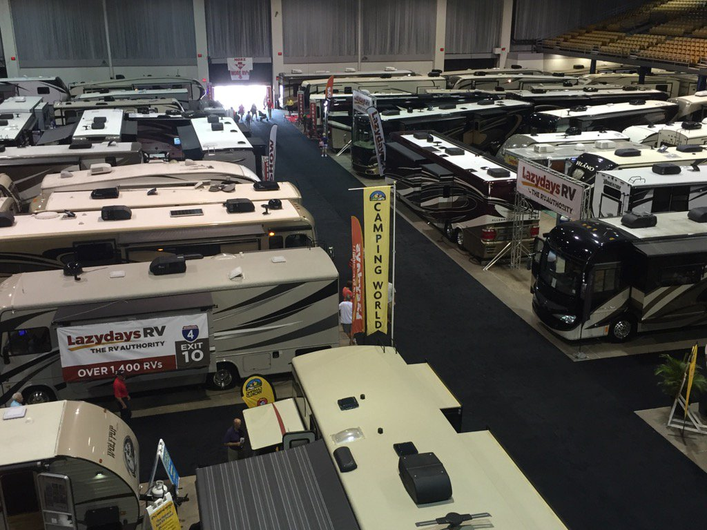 FL State Fairgrounds On Twitter Tampa Bay Summer RV Show Going On - Car show tampa fairgrounds