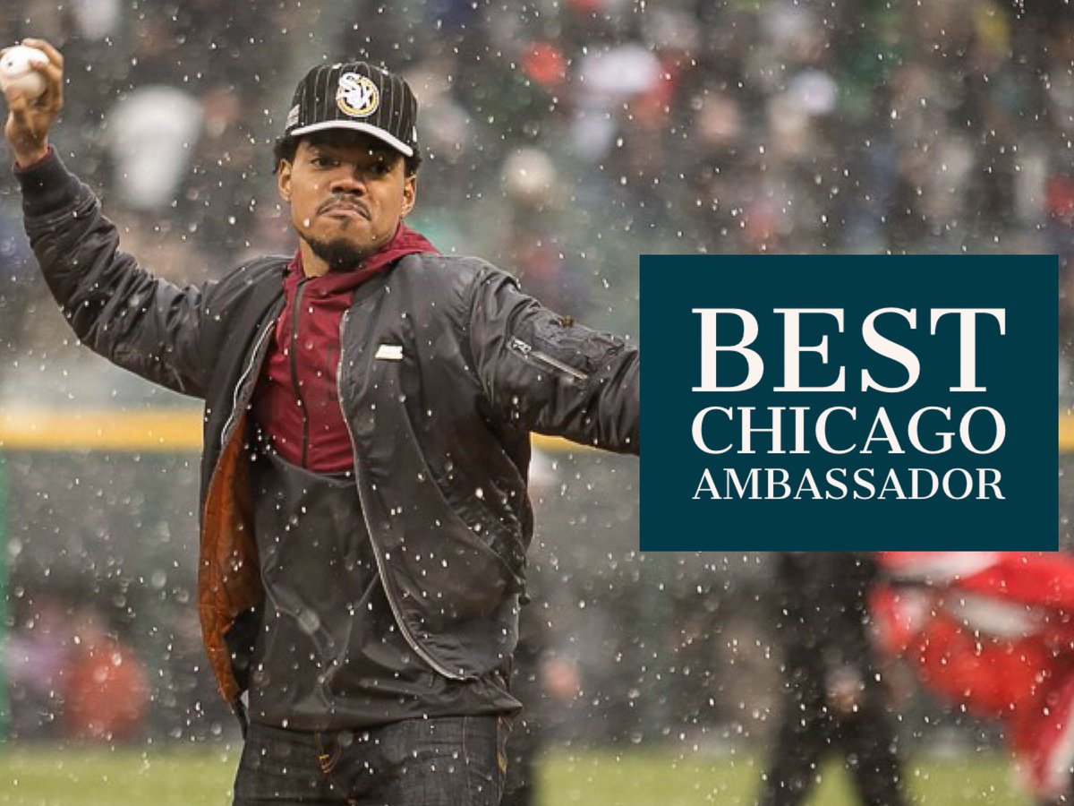 Congrats @chancetherapper for winning Best Chicago Ambassador--beating out @BarackObama!  https://t.co/f9vZH1M9Su https://t.co/OxfGDqceWP