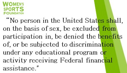 On June 23, 1972 #TitleIX was signed into legislation. Today we celebrate its 44th anniversary! https://t.co/xMgekXZovC