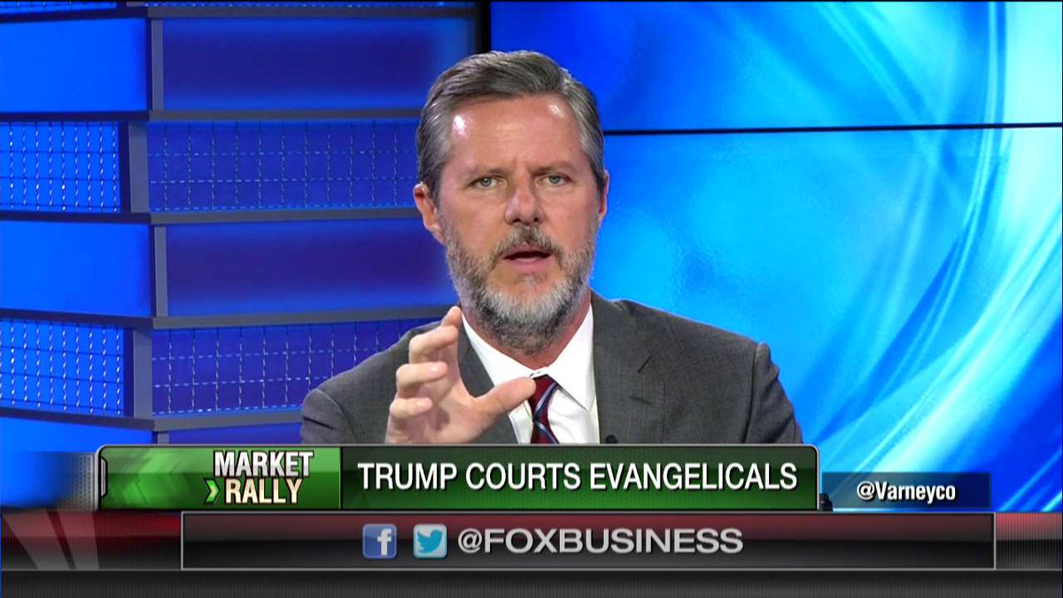 """.@JerryJrFalwell: """"I was so impressed by [@realDonaldTrump's] speech yesterday. He was the best I've ever seen him."""" https://t.co/f0E4Upmj4b"""