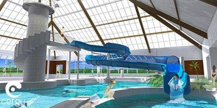Ville de cergy on twitter la piscine de l 39 axe majeur for Piscine cergy prefecture
