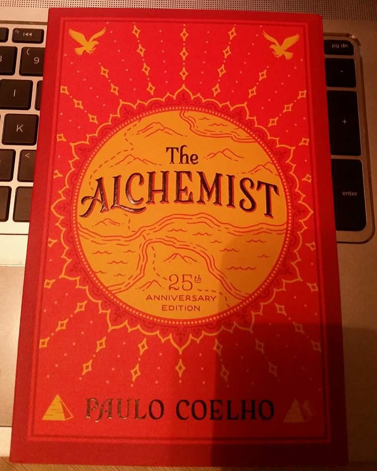 Newest addition :) #thealchemist https://t.co/4b1X1LIuvJ