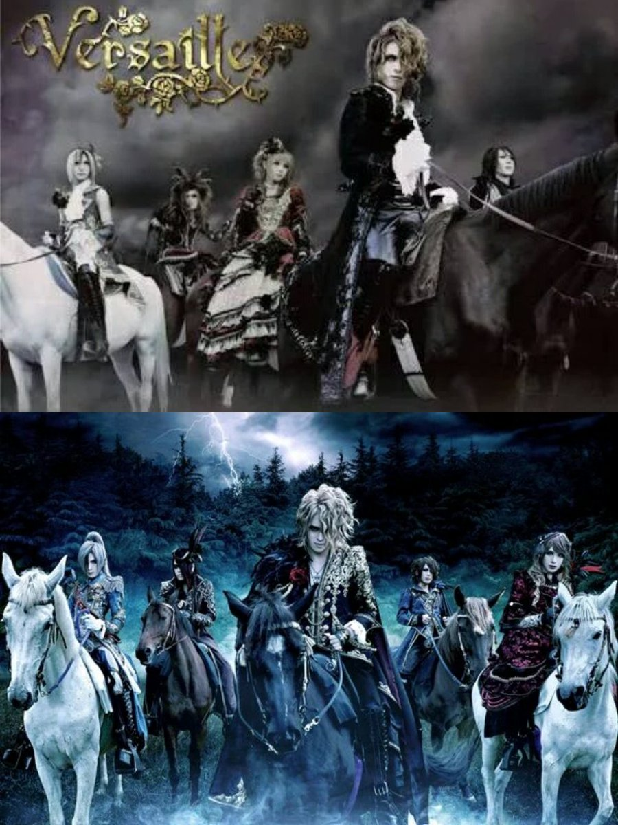 【The Revenant Choir】 2007 ∫ 2016...   Our clan's blood will not stop forever... We are Versailles. https://t.co/ccLlV2IsYR