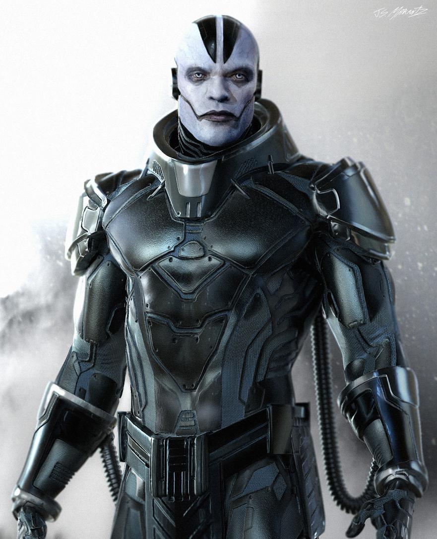 New X Men Apocalypse Concept Art Features A Much More Comic