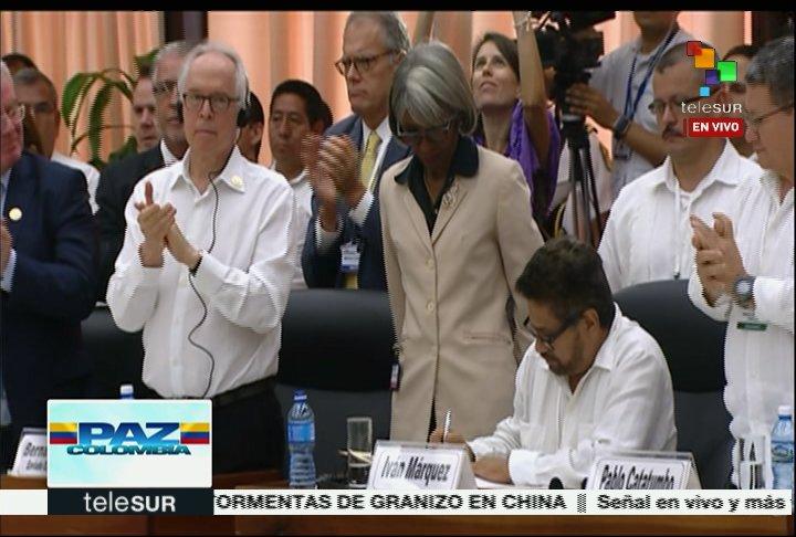 Pactan cese al fuego definitivo FARC-EP y Gobierno colombiano