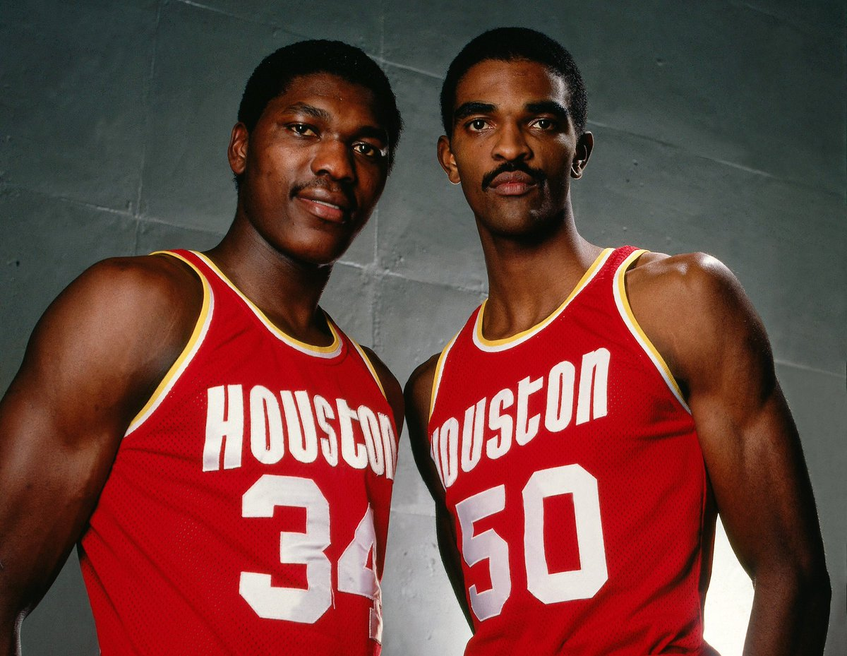 Ralph & Hakeem! #TBT #NBADraft