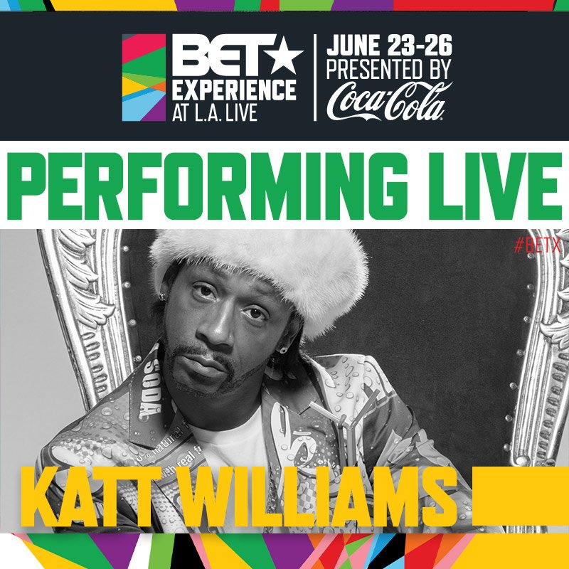 #LOSANGELES...I'm here!! See you @ STAPLES CENTER TONIGHT @BETExperience. Get tix here!! https://t.co/mfaOpaNLKE