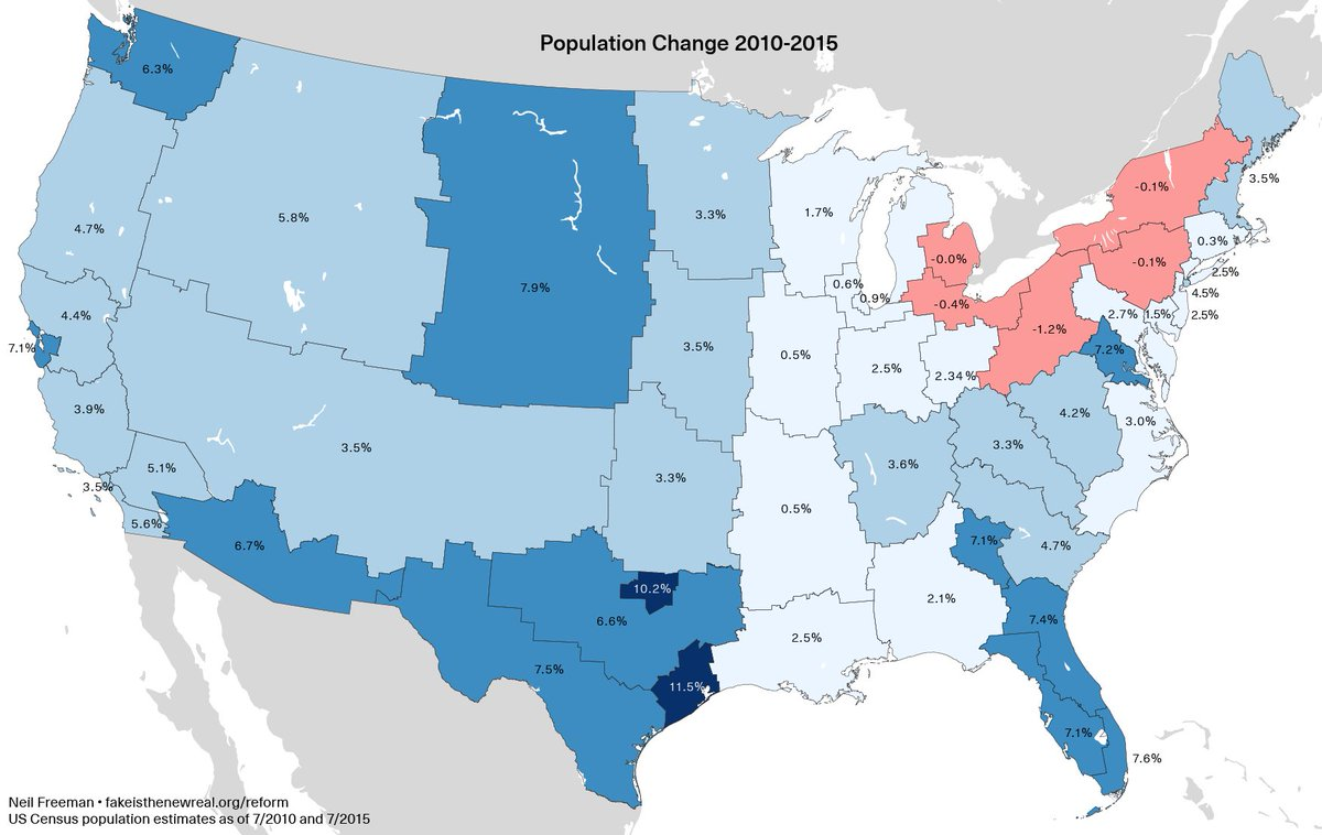 The US Map Redrawn As States With Equal Population Mental Floss - Us map 50 states equal population