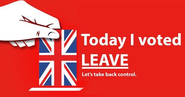 #IVotedLeave for a positive future for the UK and it's the only vote I'll get against @JunckerEU and @EU_Commission. https://t.co/d1qkhl6ZVB
