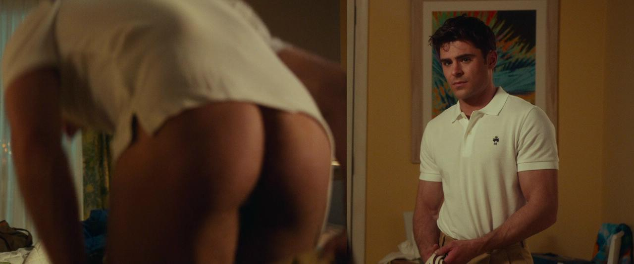 zac efron naked butt