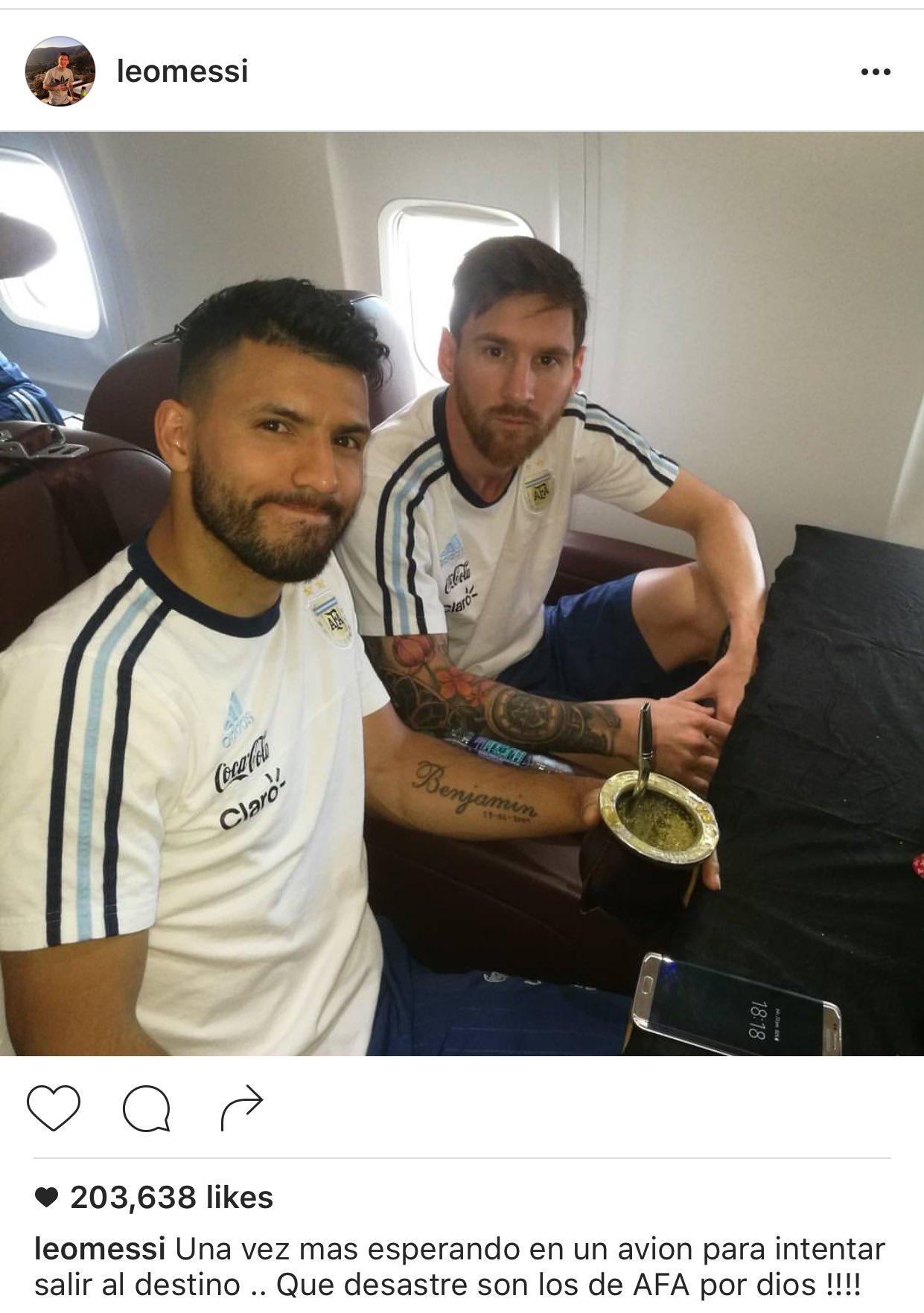 La dura crítica de Messi a la AFA
