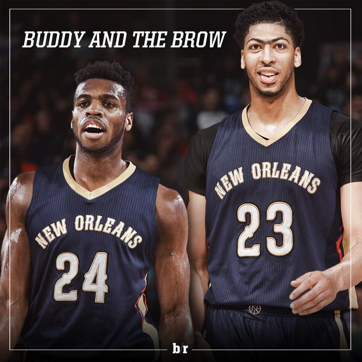 Anthony Davis has a new Buddy in New Orleans.