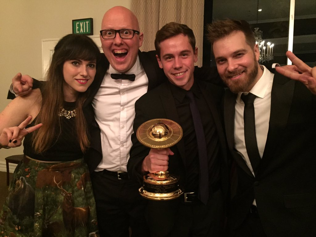 Congrats to the entire @turbokidfilm team! Amazing to see what this film has done. #SaturnAwards #InternationalFilm https://t.co/4mBb1gBVwn