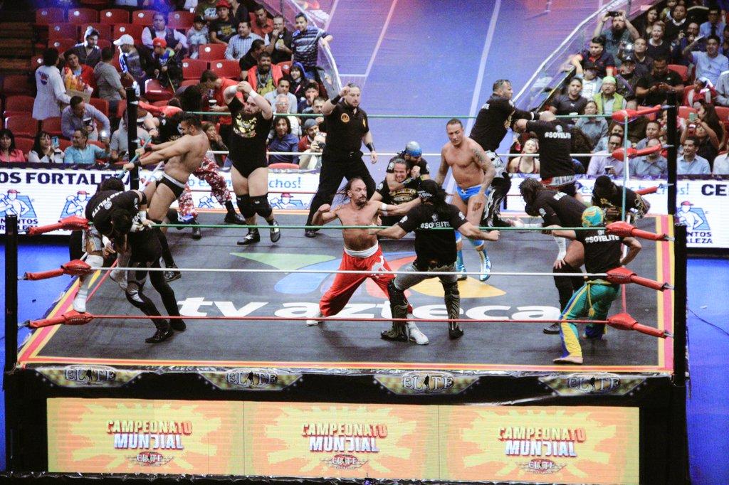 CMLL: Una mirada semanal al CMLL (del 23 al 29 de junio de 2016) - Zeuxis, reina nacional; Michael Elgin se corona en Elite; Joker, monarca medio de Occidente y más... 1