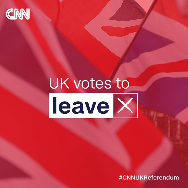 BREAKING NEWS: Leave set to win UK's EU referendum https://t.co/eIIoWWbHTv #EURefResults