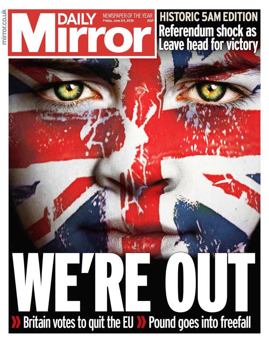 Референдум в Великобритании: по результатам подсчета 90% голосов за выход страны из ЕС проголосовали 51,7% британцев - Цензор.НЕТ 3647
