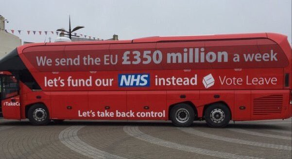 .@Nigel_Farage says he can't guarantee an extra £350m a week will go to the NHS. That promise was a