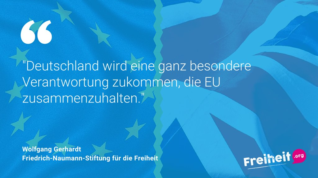 Unser Vorstand Wolfgang Gerhardt zum Ausgang des #Brexit-Referendums. #EUnited https://t.co/i2hZPIRRdY https://t.co/vpkMF8oHAK