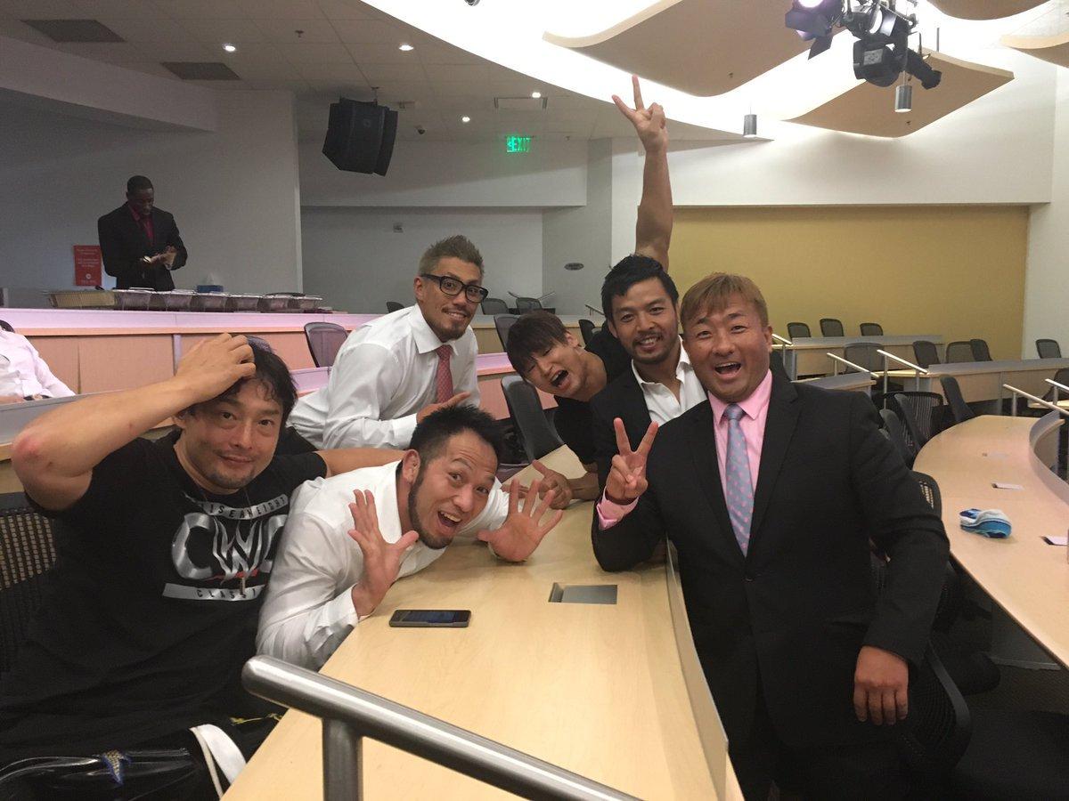 今ツアーのMVPは、FUNAKIさんもKENTA選手も認めた中澤マイケルマネージャーで間違いない。来月もお世話になります! https://t.co/7N982etgFx