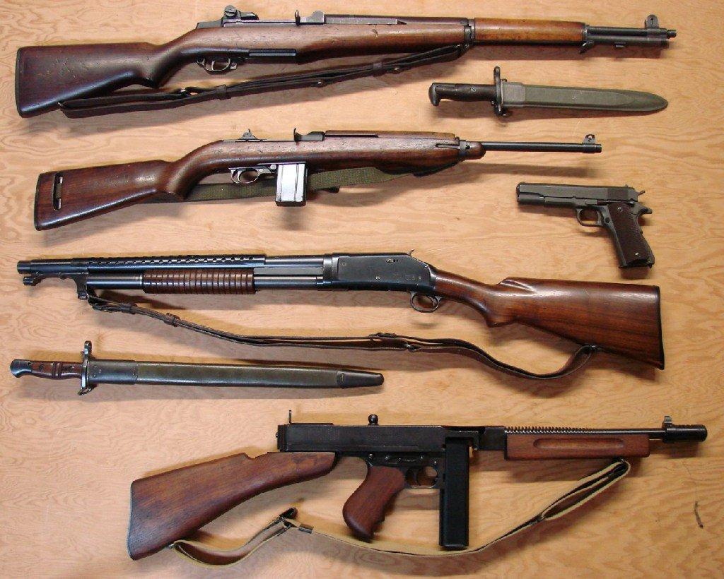 Советское стрелковое оружие картинки