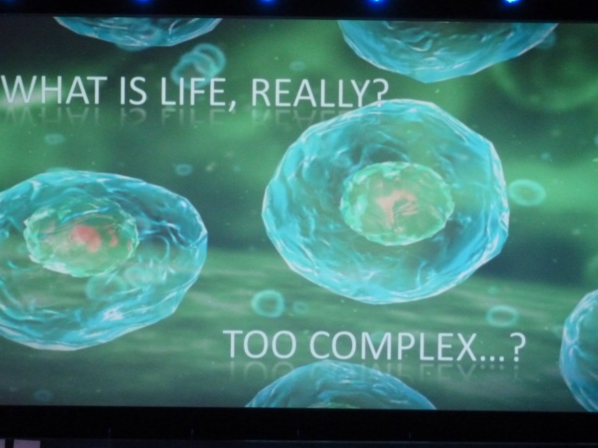 Some questions raised at the #SynbioForum. Part one: What is life, really? https://t.co/KrpLaMPdGY