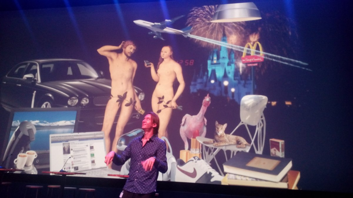@Mensvoort @nextnature rocking #SynBioForum 'born and made are fusing. Nature andere culture are shifting.' https://t.co/QY558bT4e3