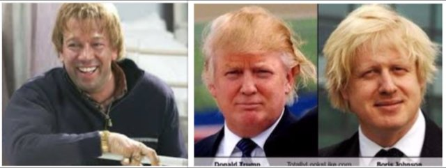 Since becoming famous for playing Tony Tucker I've noticed that Boris Johnson & Donald Trump are copying my style! https://t.co/nx04qEaQui