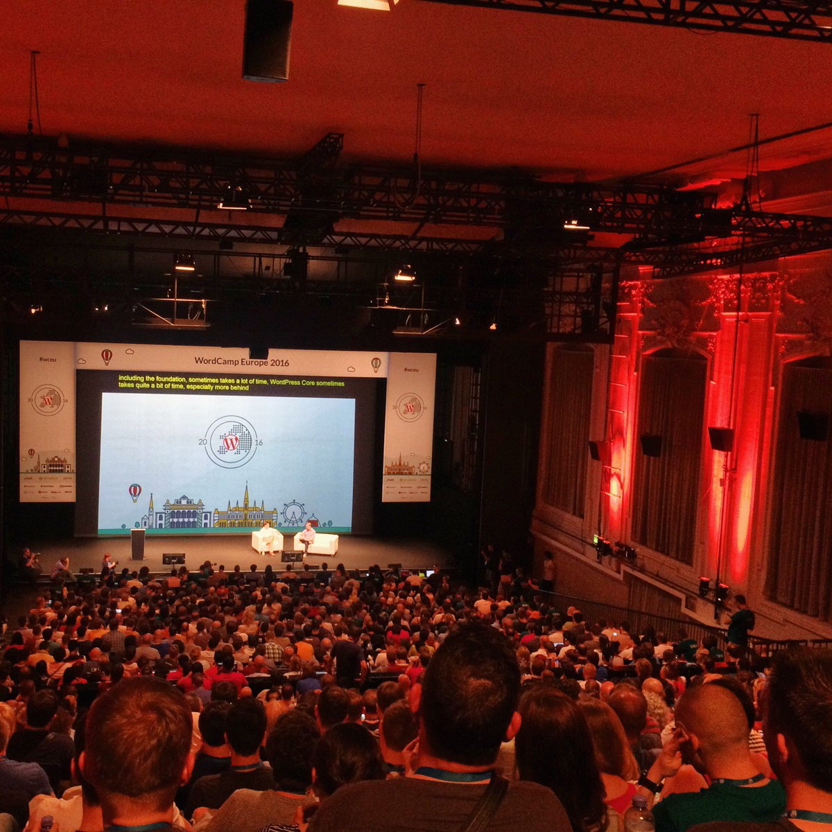 Thumbnail for Interview and Q & A with Matt Mullenweg: WordCamp Europe 2016