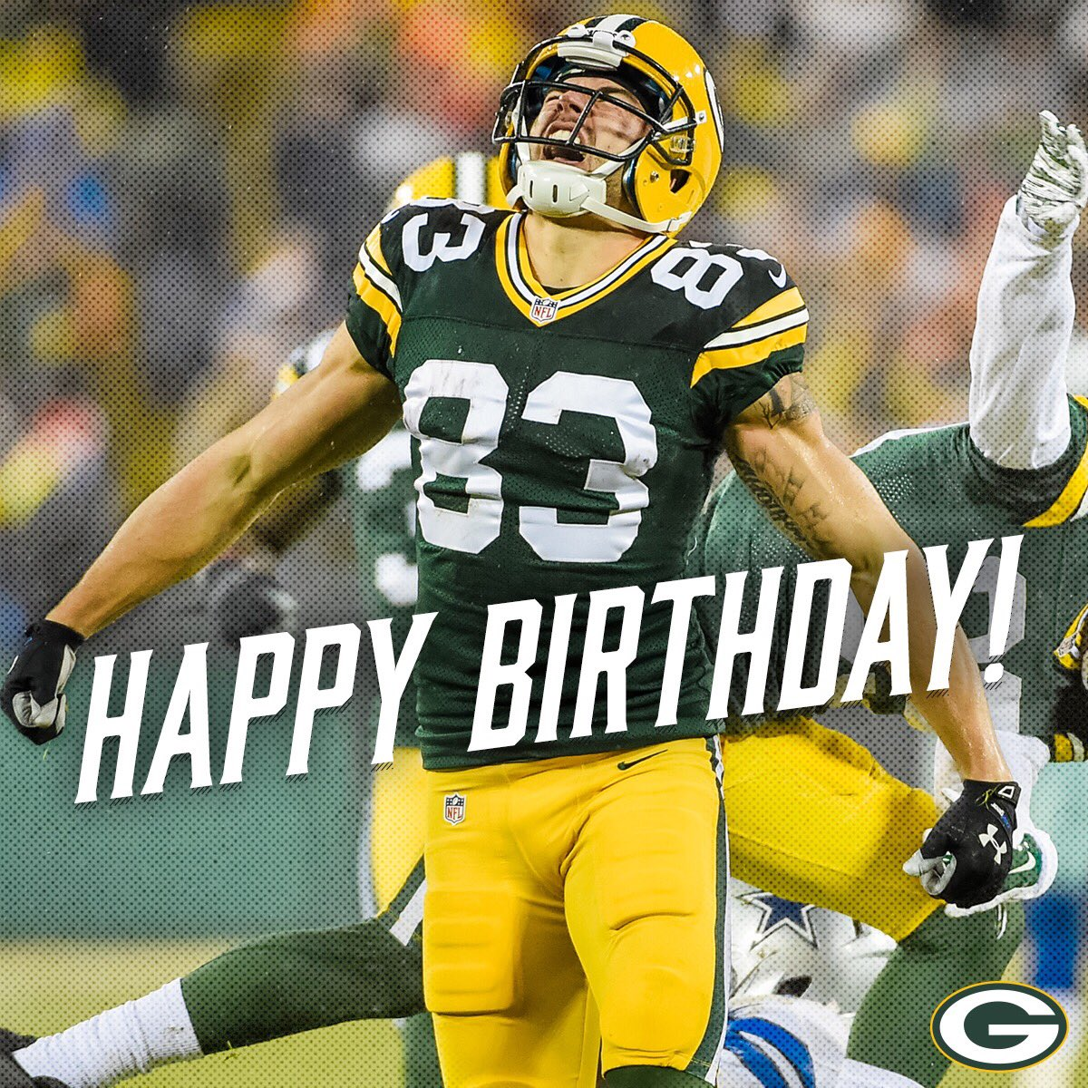Green Bay Packers On Twitter Happy Birthday Jrjanis